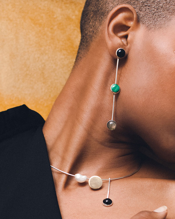Longsway Earrings | NICA Collection | FARIS Jewelry