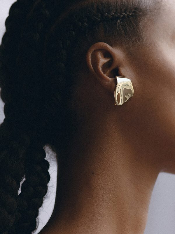 LECCA Earrings in Bronze by FARIS