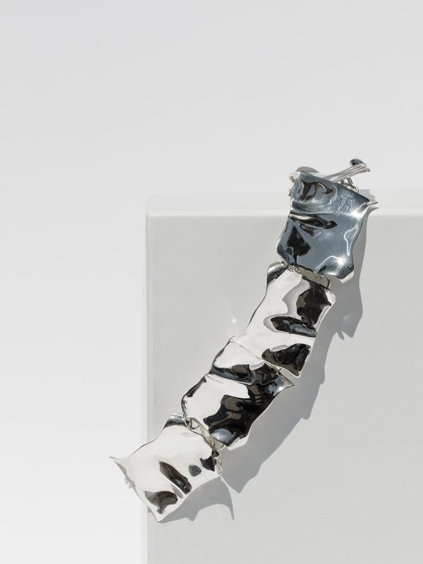 Silver TAG Collar by FARIS jewelry