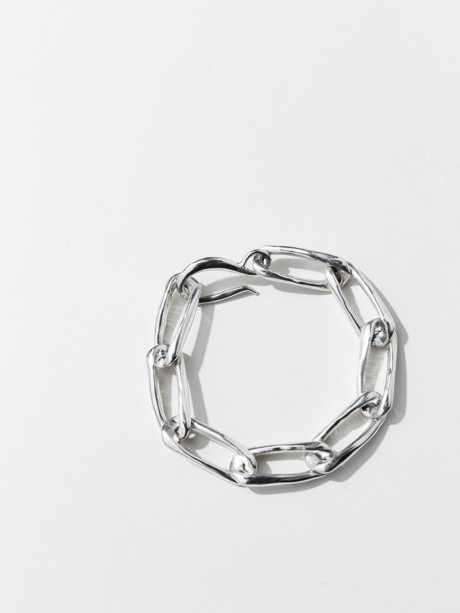 CLASSIC CHAIN Bracelet in silver by FARIS