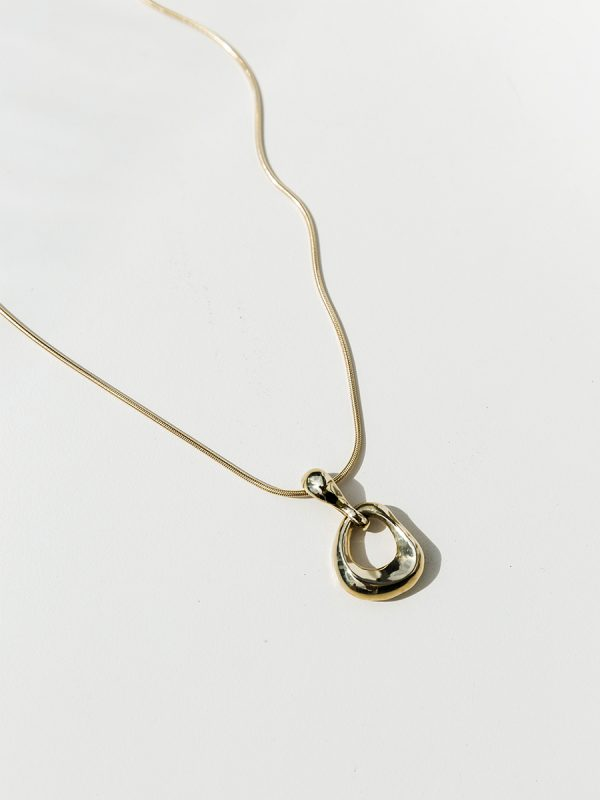 NINA Necklace in Bronze by FARIS