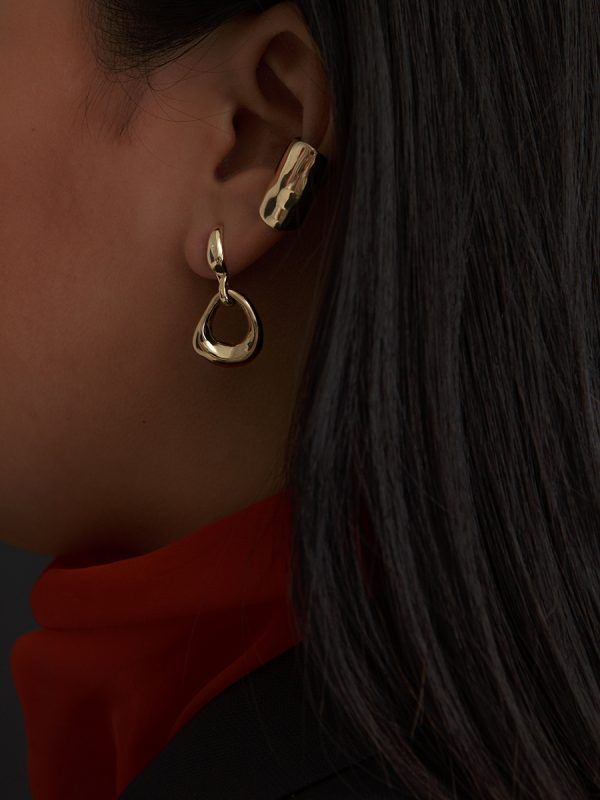 NINA Earrings in Bronze by FARIS