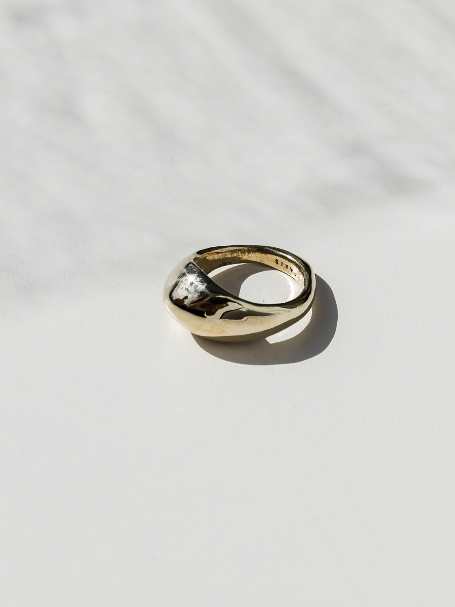 PEAK Rings in Bronze by FARIS