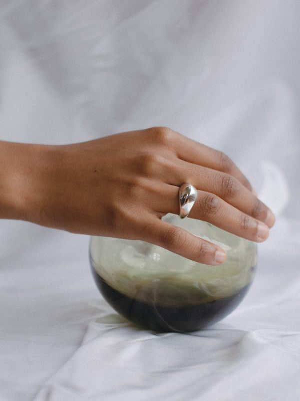 PEAK Rings in Silver by FARIS
