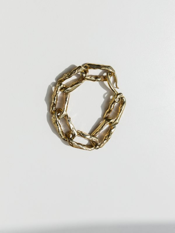TERRA CHAIN Bracelet in Bronze by FARIS
