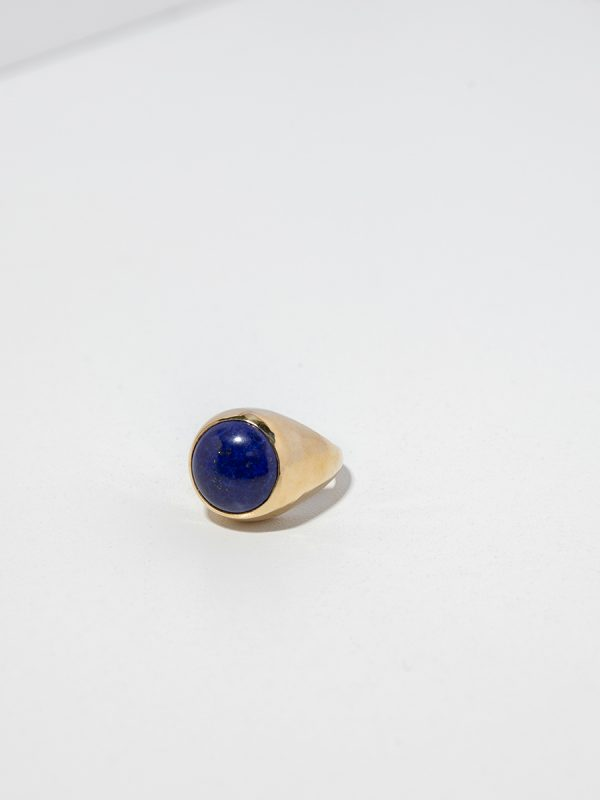 BAMINI Ring in Bronze and Lapis by FARIS
