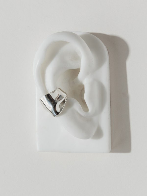 PLEAT EAR CUFF by Faris