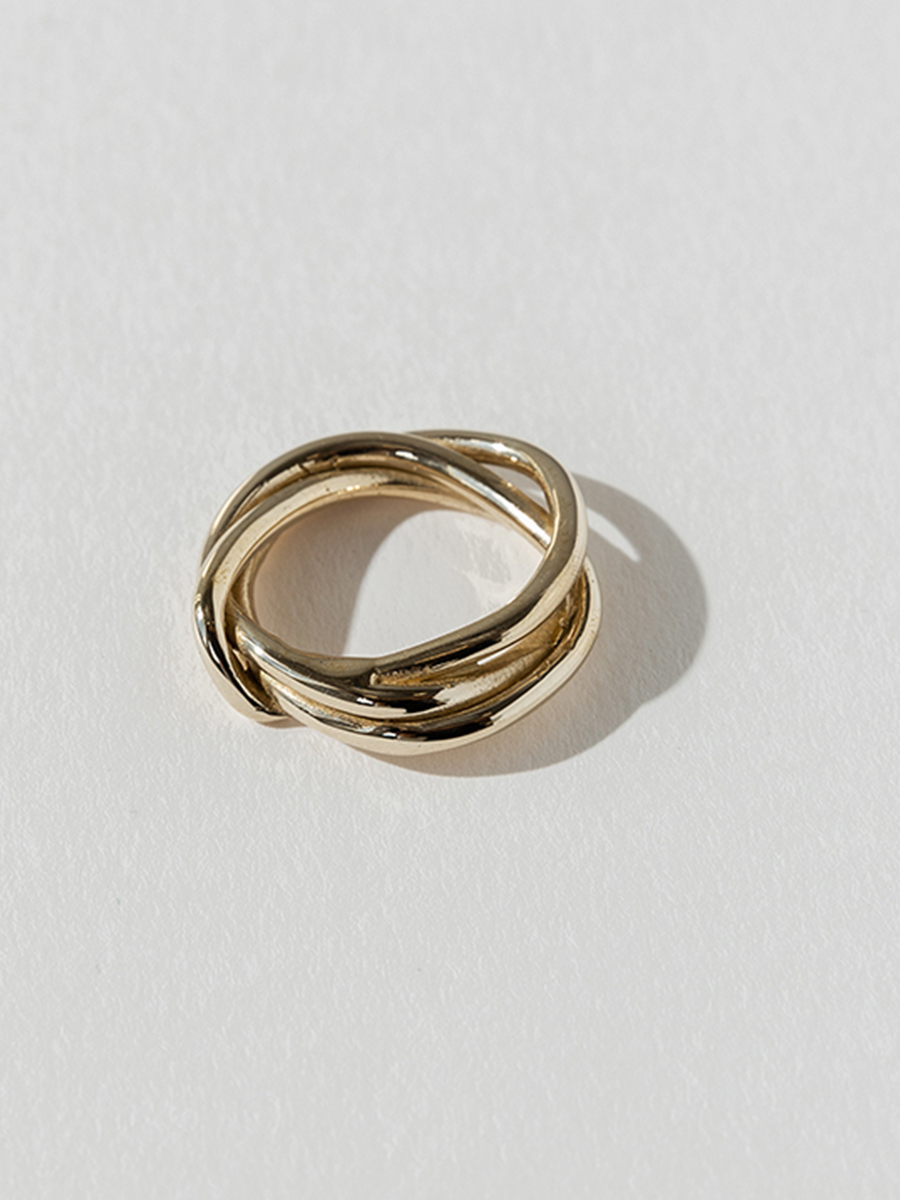 tangle ring by FARIS
